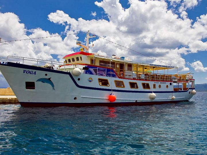 Boat trip with Voga Makarska - Jelsa Hvar - Bol Brac